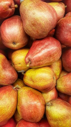 Pears Pears Pears Abundance Arrangement Backgrounds Close Up Close-up Collection Composition Directly Above Fruit Large Group Of Objects No People Organic Pears Produce Ripe Still Life Textured  Variation