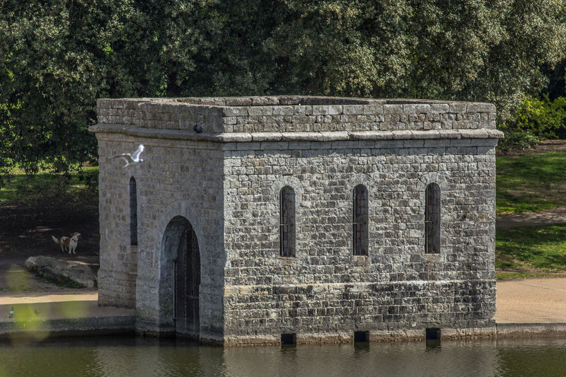 Boat house on the lake 400mm Lens 6D Architecture Beauty In Nature Built Structure Canon Day Grass Green Color Growth Maidstone Mote Park Nature No People Outdoors Sky The Past Tranquil Scene Tranquility Travel Destinations Tree Water