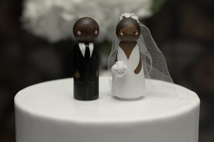 Wedding cake Wedding Photography Close-up Figurine  Focus On Foreground Human Representation Celebration Wedding Event Wedding Cake Sweet Food No People Food And Drink Still Life Cake Wedding Cake Figurine Female Likeness Male Likeness Food Representation