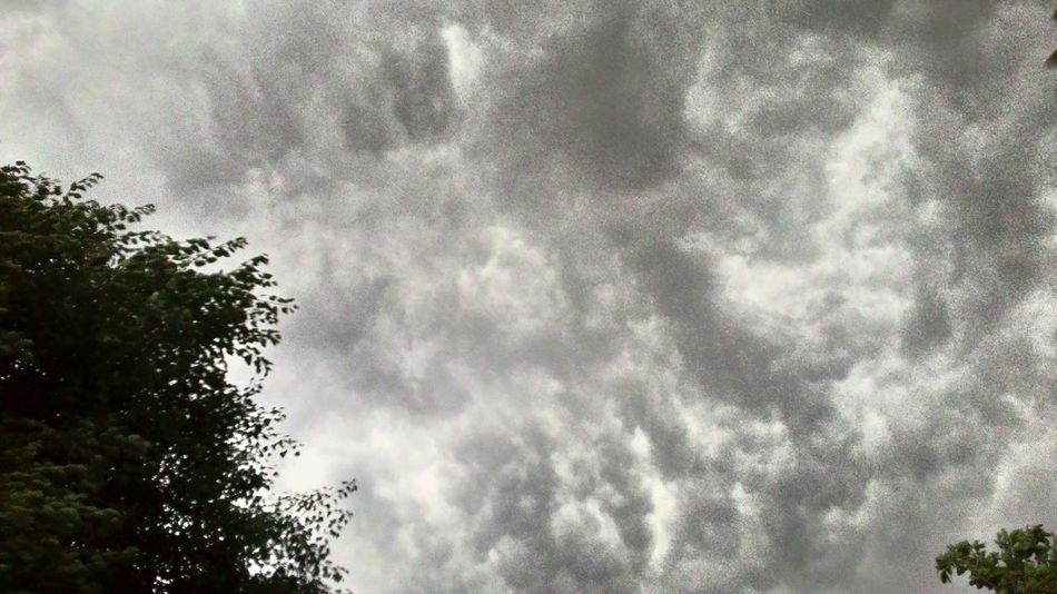 When a Thunderstorm gathers... Wish I had my lapse photography app. Cloud Formations