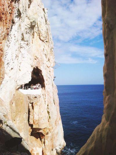 Menorca Landscape Cave