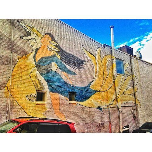 Aiie <3 Streetart Washington_DC Wisconsin Ave Amazing