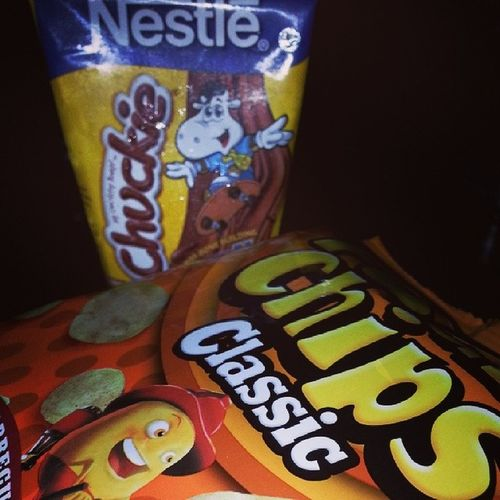 Chips and Chuckie. Yessss. Thank you mommy! ♡ PaanoAkoPapayat
