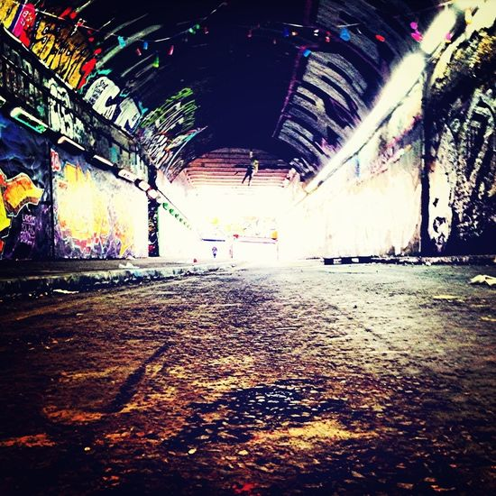 Waterloo Graffiti Tunnel