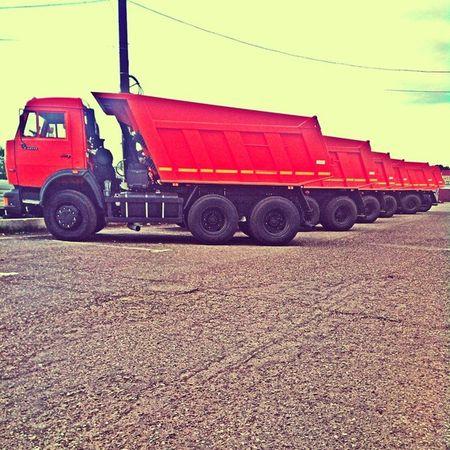 Россия Нефтекамск Камаз нефаз самосвал грузовик Совок Russia Russian Russiancar Track Car Clouds