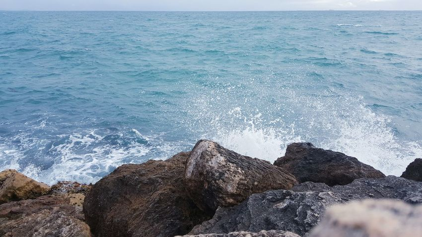 Power In Nature Horizon Over Water Beauty In Nature Ocean Photography Rock Formation Breaking Wave Surf Sea Water Motion Nature Splashing Scenics Shore Seascape Rocks And Water Rocks Rocky Coastline Indian Ocean Rock - Object Oceanscape Stormy Weather Crashing Waves  Surf