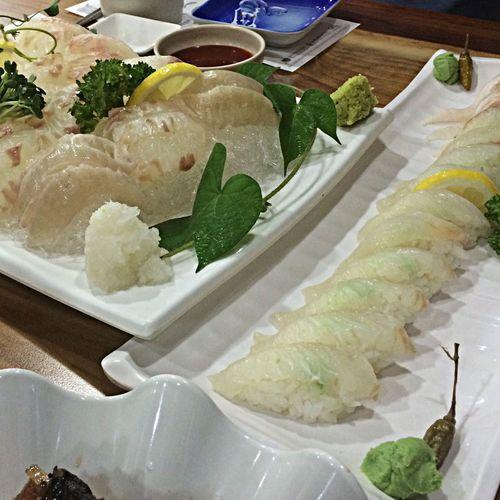 회와 초밥 Food Porn Japanese Food Sushi Sasimi