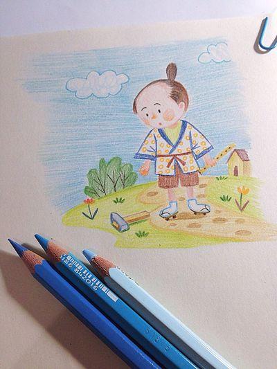 蜡笔 Drawing 绘本