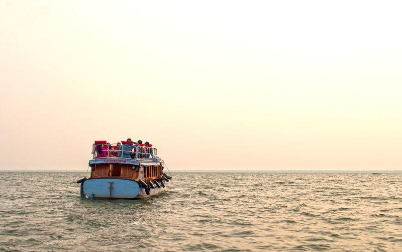 Boat Cochin Fishermen Imbarcazione India Mare Pescatori Sea Sunset Tramonto