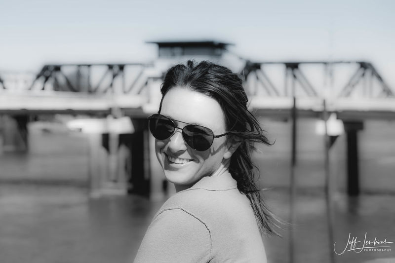Architecture Beautiful Woman Close-up Day Focus On Foreground Headshot Leisure Activity Lifestyles One Person Outdoors Portrait Real People Smiling Sunglasses Water Young Adult Young Women