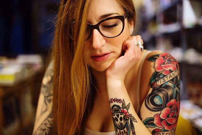 V. Tattoo Girl Portrait Canonphotography Canon6d Photography