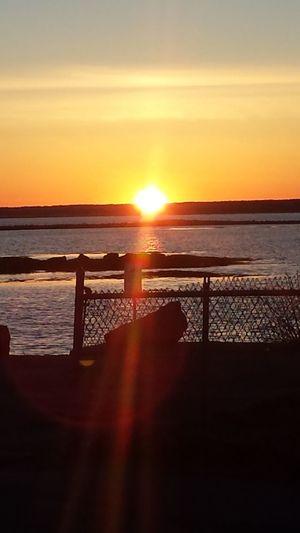 Sunset Maine Kennybunk Sungazing
