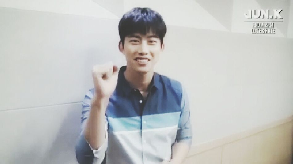 fighting !!! Jun k. :) Taecyeon Oktaecyeon