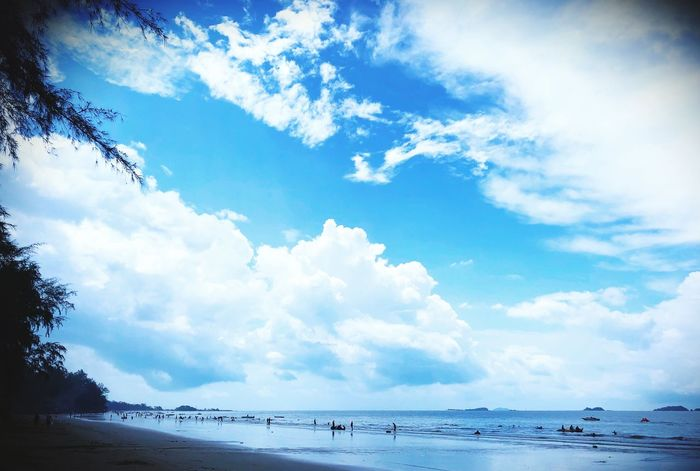 Cloud - Sky Sky Water Sea Beauty In Nature Day Scenics - Nature Tranquility Beach Nature Tranquil Scene Outdoors