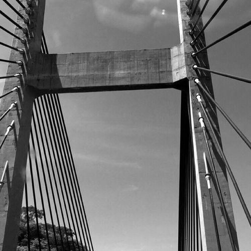 Todos los puentes están enamorados de un suicida… Bridge MMexico CityMexico Blackandwhite Black & White Blackandwhite Photography Bkack&withe Puente