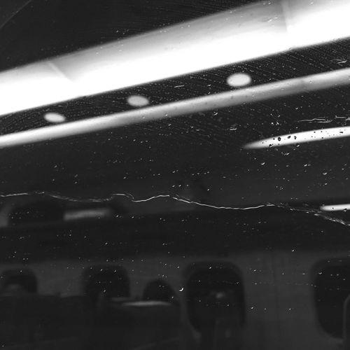 Bullet Train Rain Water Window Onmywayhome Tokyo Night Waterdrops Blackandwhite