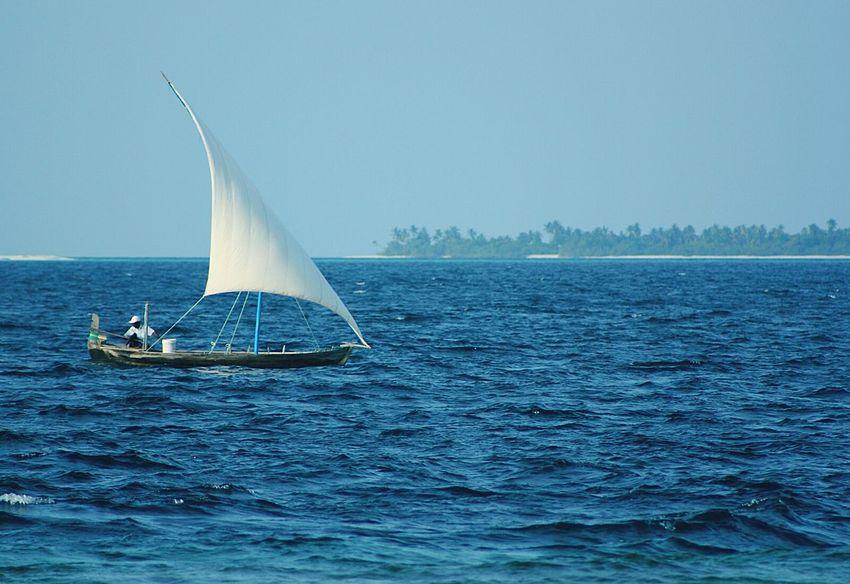 Sea And Sky Sailing Sea_collection