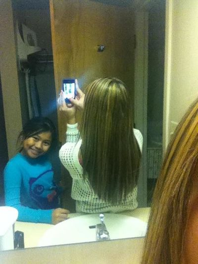 New Hair Color & My Sister Lol