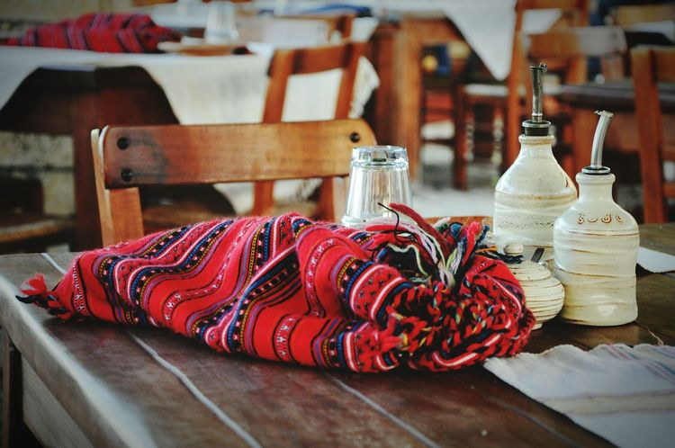 Showcase: February Table Table Setting Tablesetting Tables And Chairs Table And Chairs Table For Two Taverna Tavern  Traditional Culture Traditional Lunch Time! Vacations - Greece Chania Crete