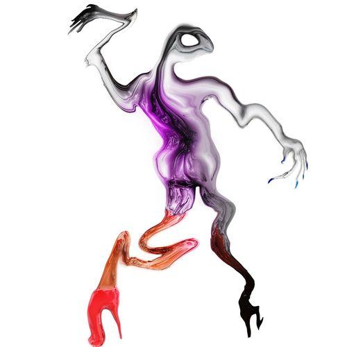 """This fa**ot has women legs"" Does part determines whole? Abstract Surrealism Modern Freestyle Graphic Digital Art Alien Weird Shape Sculpture Art Artist Tender"