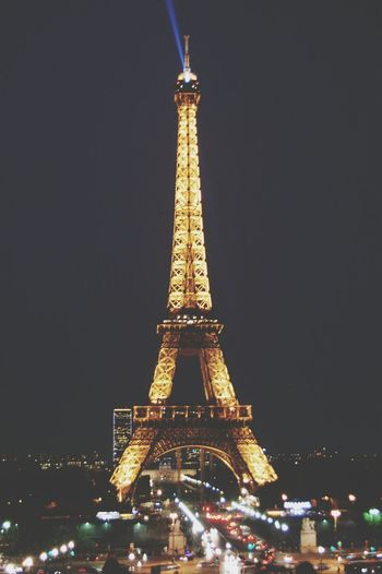 ieri sera ♥ Trocadero Toureiffel Night Chefotografa