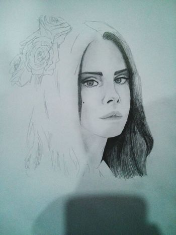 Not Finished Yet Lana Del Rey My Drawing