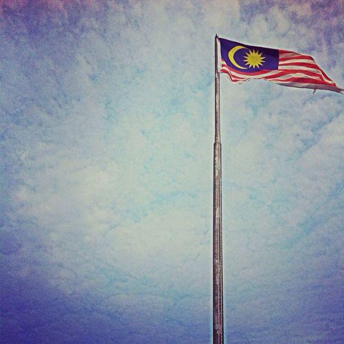 Flags proud to be malaysian..!!! Malaysia Sabah