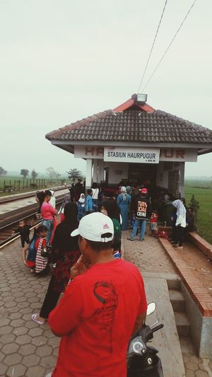 People get ready haurpugur village west java indonesia People Train Station Smallville  Indonesia Wonderfull