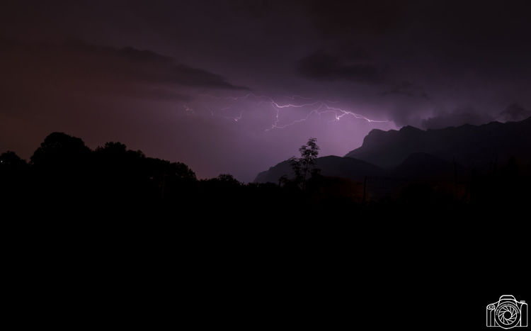 Peut-être préférez-vous celle ci ? France Nikon Storm Beauty In Nature Cloud - Sky Djatout Forked Lightning Goncelin Lightning Mountain Nature Night No People Orage Outdoors Photography Power Power In Nature Scenics - Nature Silhouette Sky Storm Storm Cloud Thunderstorm Warning Sign
