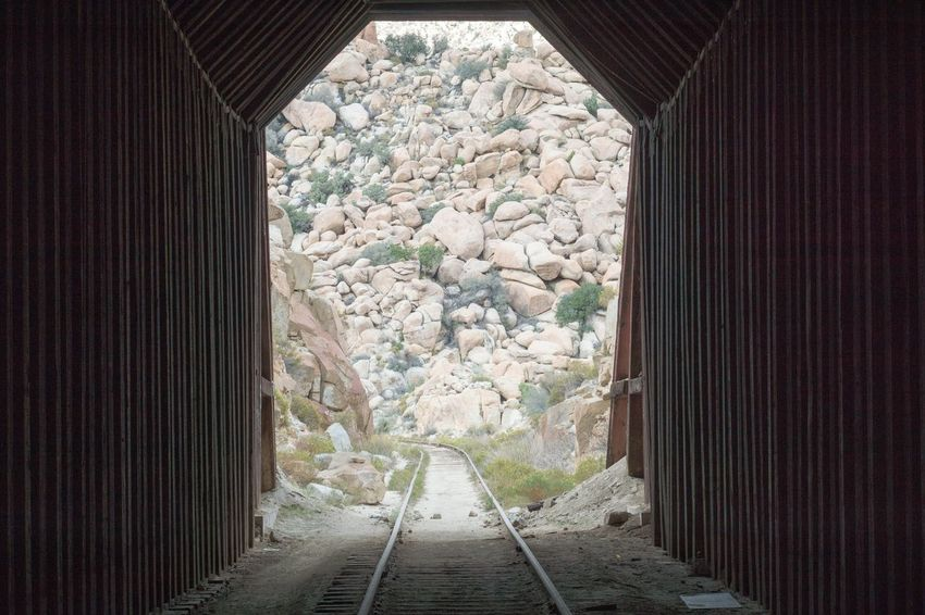 Architecture No People The Way Forward Day Tunnel Railway Tunnel Tunnel Entrance Tunnel Through A Mountain Abandoned Outdoors Train Tracks Railroad Railway Railway Track Mountains Hiking Nature Photography Landscape