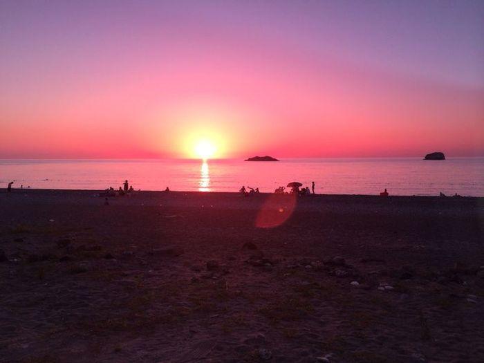 Giresun Tirebolu Swimming After Sunlight