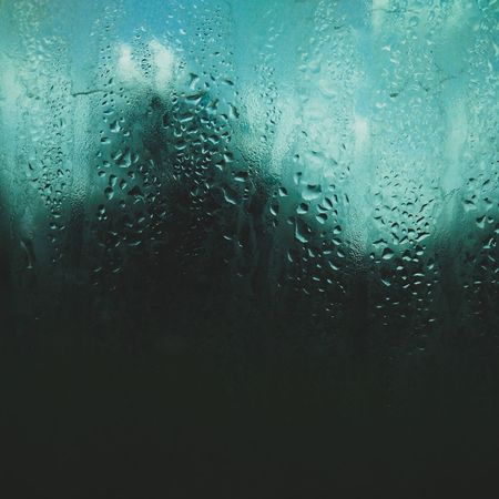 Drop Water Glass - Material Rain Backgrounds Wet Window Condensation No People Frosted Glass Full Frame RainDrop Close-up Indoors  Day Nature Tree Sommergefühle Sky