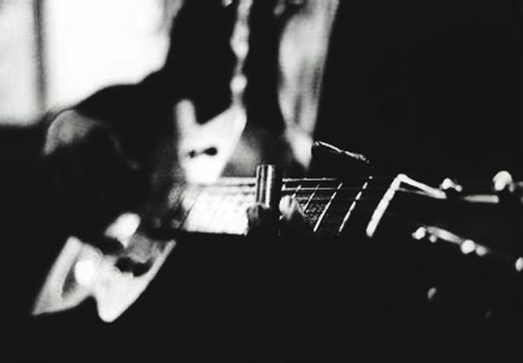Studio session Black And White Blackandwhite Photography Recording Studio Solo Guitarist Slide Guitar Indoors  Music Arts Culture And Entertainment Adults Only Adult Musical Instrument