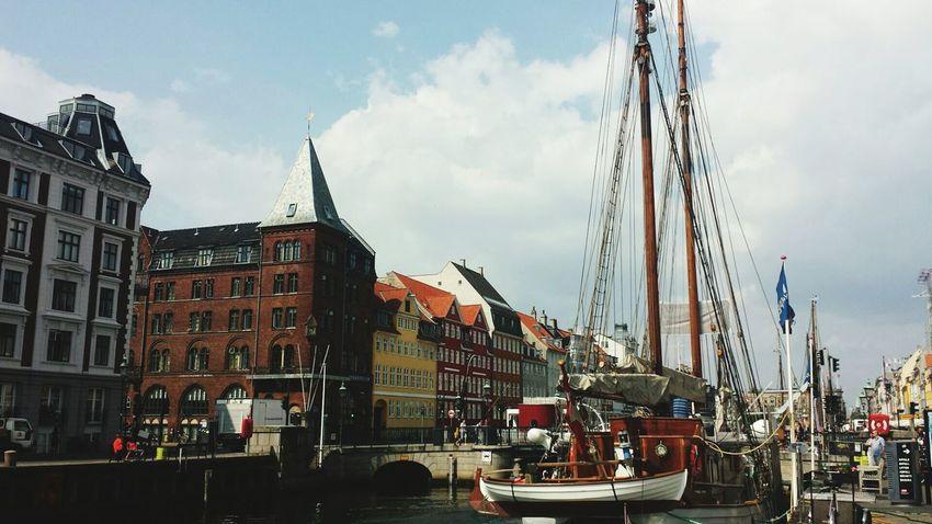 Copenhagen Denmark. Summer of 2014.