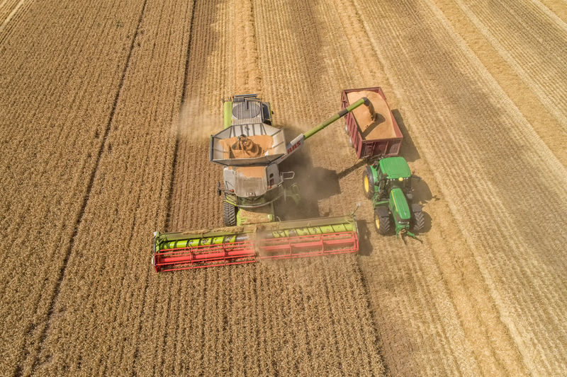 Aerial Shot Combine Harvester Drone  Farming Vehicles Tractor Wheat Field Aerial Photography Aerial View Agricultural Equipment Agricultural Machinery Agriculture Cereal Plant Crop  Drone Photography Droneshot Farm Farming Field Growth Harvest High Angle View Land Machinery Nature Rural Scene