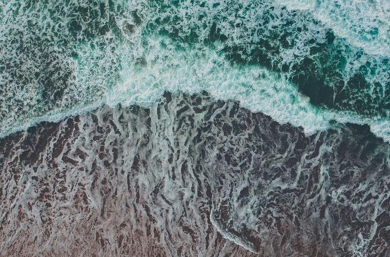 Full Frame Shot Of Sea Wave