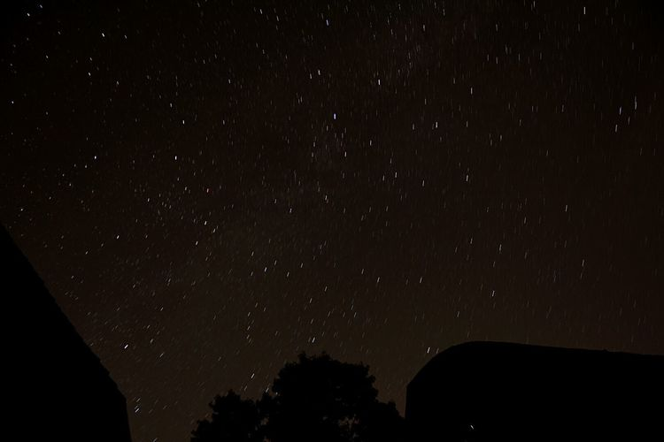Starry starry night Clean Air Fresh Air Freedom Countryside No Light Pollution Stars Nightphotography Good Night Moon