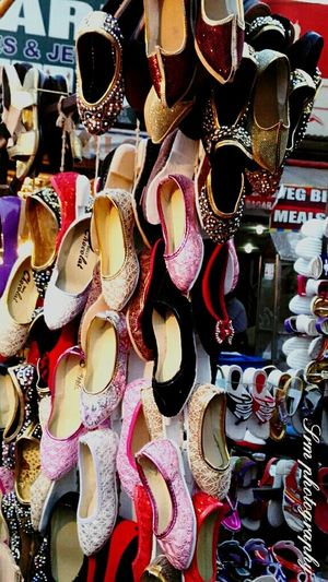 Hyderabad,India Hyderabad Charminar Shopping Time Taking Photos Evening Shots Camera Practice Randomshot Night Photography Market Stall Stalls Street Photography Lighting Effect India Shoes ♥ Shoes Shop Kids Shoes Looking Beautiful !