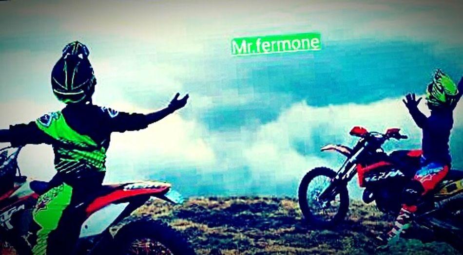 Airoh Motocross Ktmexc125 Enduro Mountain First Eyeem Photo