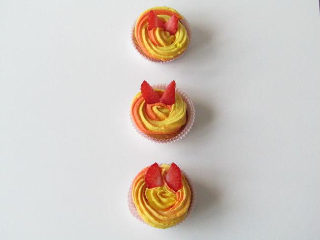 Cakes Cupcakes Cake Cupcake Cupcake Colors Dessert Food Food And Drink Indulgence Sweet Food Temptation White Background