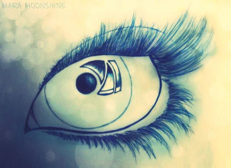 Eye Drawing Blue My Drawings