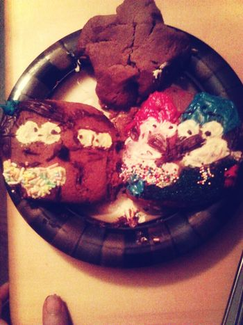 Cookies I made. Yumm. Cookies Regular Show