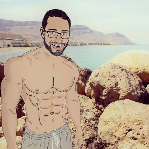 Lazar Abgelov Elrabaa :D all finger drawn by me.... Muscle_fitness Lazar Digital Art :D