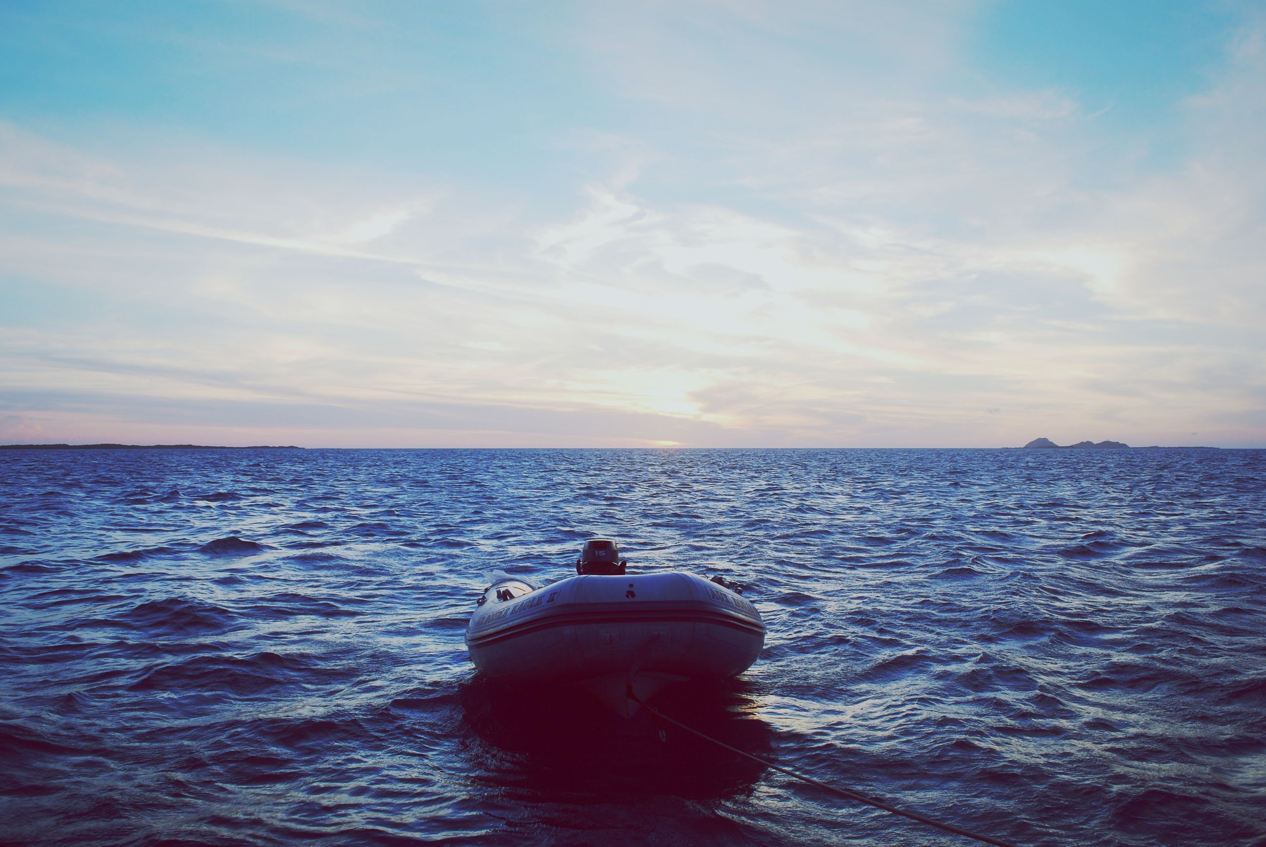 sea, water, sky, waterfront, horizon over water, outdoors, no people, nautical vessel, nature, beauty in nature, day
