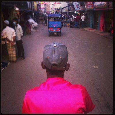 Rickshaw Ride Daily Life Pink Color Chaktai Chittagong City Instagram