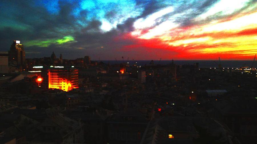Fantasy Edits Sky_love Night Lights Sunseteffect