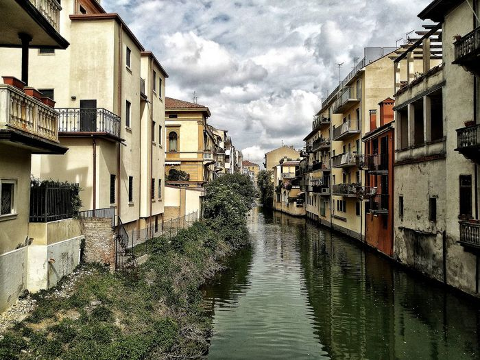 Padova, Aprile 2019 Hdr_Collection City Sky And Clouds Canal Water Reflections Architecture Building Exterior Built Structure