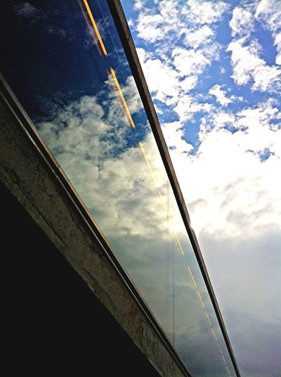 Reflection Clouds And Sky