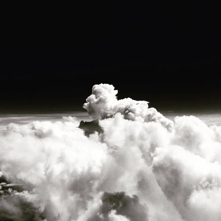 Flying Clouds And Sky Air