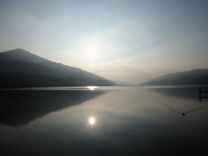 Silence. Lake